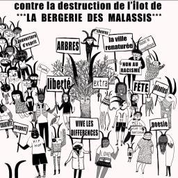 Non à la destruction de la Bergerie des Malassis